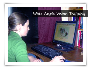 wide angle vision training